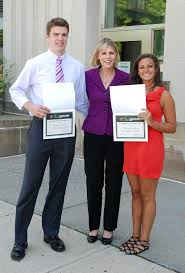 jhs juniors receive honor from senator young pictured is state senator cathy young center youth leadership award recipients steve carlson