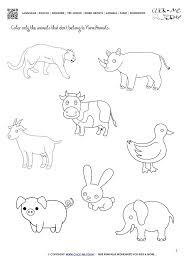 Farm Animals Worksheets Science Farm Animals Worksheets Animal ...