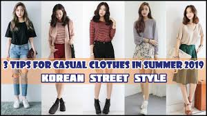 3 Tips for Casual Clothes in <b>Summer 2019</b> - <b>Korean</b> Street Style ...
