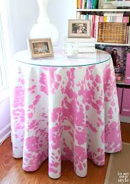 end table tablecloth top how to make a round tablecloth in my own style intended for