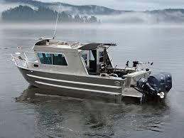 Cabin Xw Boats By Silver - Streak Boat Aluminum 25' Swiftsure