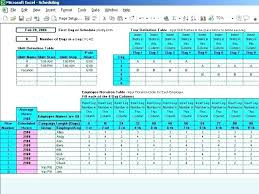 Microsoft Daily Planner Simple 448 Rotating Shift Schedule 48 Hr Rotation Schedules Template Maker