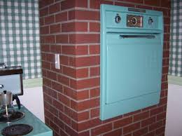 oven enclosure with brick veneer