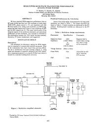 Pulse Transformer Design Pdf Pdf High Power Microwave Transmitter Performance At Long