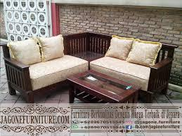foto furniture. Kursi Tamu Sudut Jati Minimalis Jepara Foto Furniture