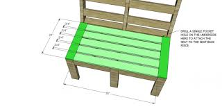 diy outdoor furniture plans. Free DIY Furniture Plans To Build Customizable Outdoor - The Design Confidential Diy O
