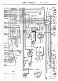 chrysler i have a 1968 chrysler newport a brand new battery you can pick up a fusible link at most parts stores and you will need to er and heat shrink it where the old one was see wiring diagram below for more