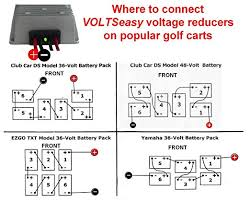 amazon com golf cart voltseasy voltage reducer for 36 and 48 amazon com golf cart voltseasy voltage reducer for 36 and 48 volt 20 amp 240 watt sports outdoors