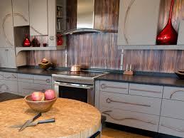 ... Backsplash Ideas, Metal Kitchen Backsplash Ikea Stainless Steel  Backsplash Metal Backsplash Ideas HGTV: astounding ...