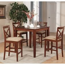 Counter Height Bistro Table Set Red Barrel Studio Great Divide 5 Piece Counter Height Pub Table