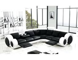 black and white sofa designer black and white corner manual reclining leather sofa model black sofa black and white sofa