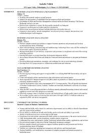 Business Analyst Data Analyst Resume Samples Velvet Jobs