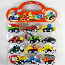 pull back mechanism set of 12 diffe racing cars trucks for kids birthday gift and return gift