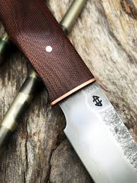 bushcraft knife with micarta and kydex leather sheath show and tell bladesmith s forum board