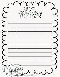 give thanks writing prompts and thanksgiving papers thanksgiving writing papers to inspire your students to be thankful com