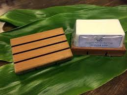 wooden soap dish teak whitecap