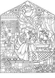 beauty and the beast coloring page beauty and the beast rose