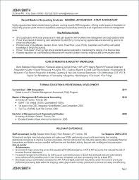 Sample Resume For Financial Management Fresh Graduate Best of Accounting Resume Sample Accountant Resume Resume Sample Resume