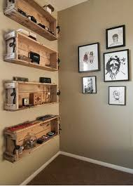 hanging box shelves entryway design solutions how to make hanging box shelves