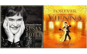 Album Of Waltz Overtakes Susan Boyle In Album Charts Telegraph