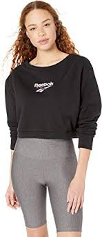 Reebok Classics Vector Crew Neck Sweatshirt: Clothing - Amazon.com