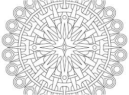 Geometric Coloring Sheets Printable Free Printable Coloring Pages