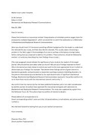 006 Research Paper Cover Letter For Publication Sample