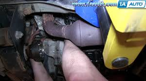 how to install replace engine starter l wd jeep how to install replace engine starter 3 7l 4wd 2002 07 jeep liberty