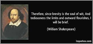 brevity is the soul of wit essay academic essay brevity is the soul of wit hamlet