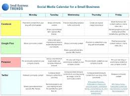 Social Media Plan Template Classy 48 Marketing Plan Template An Example Editorial R For A Social