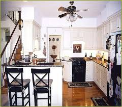 kitchens with white cabinets and black appliances. White Cabinets Black Appliances Off Kitchen With Kitchens And