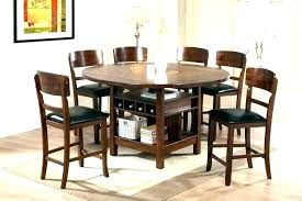 dining table set for 8 bold design round dining tables with leaf wood table set kitchen