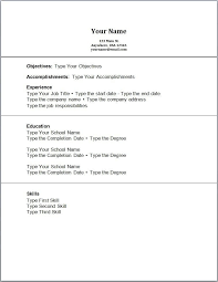 Resume Templates With No Experience Adorable Resume Example No Experience Resume Skills Examples No Experience