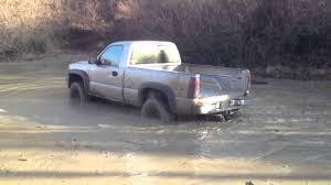 1999 chevy silverado 4x4 4.8 V8 mudding - YouTube