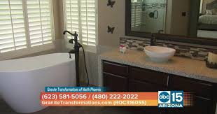 change the entire look of your bathroom with granite transformations of north phoenix