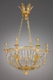 russian six lights chandelier