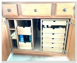 organize bathroom cabinet under sink under the sink cabinets under cabinet storage storage cabinets under cabinet