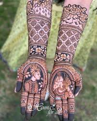Dulhan Mehndi Designs Full Hand Top Bridal Mehndi Designs For Full Hands This Season