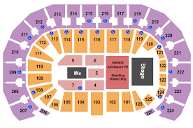 Intrust Bank Arena Seating Chart Valley Center