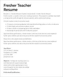 Sample Teacher Resumes Teacher Resume Samples In Word Format Easy ...