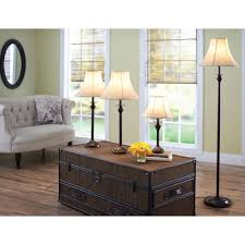 better homes and gardens piece lamp set bronze finish cfl floor table sets canada uk best