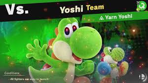 World Of Light Yarn Yoshi Super Smash Bros Ultimate World Of Light Part 152 Yarn Yoshi