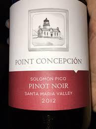 Point Concepción Solomon Pico Pinot Noir   Vivino