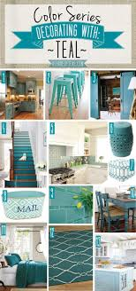 Teal Accent Home Decor Color Series Decorating with Teal Teal kitchen Bath decor and Teal 5