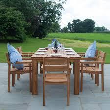 unthinkable rustic teak outdoor furniture modern garden dining set 8 seat table wood coffee bowl