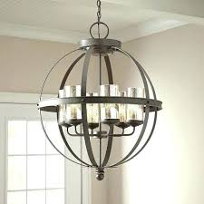 vineyard orb 4 light chandelier medium size of shown in polished chrome finish and clear glass 9 light orb chandelier orb