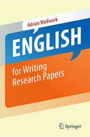 english for writing research papers english for writing research papers w