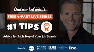 Resume Writing Career Profile 1s With Andrew Lacivita Advice For Each Step Of Your Job Search