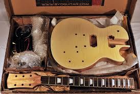 byo les paul guitar kit review