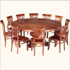 contemporary round dining table for 8